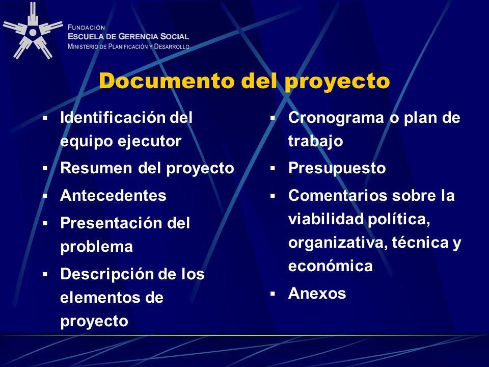 Documento del proyecto