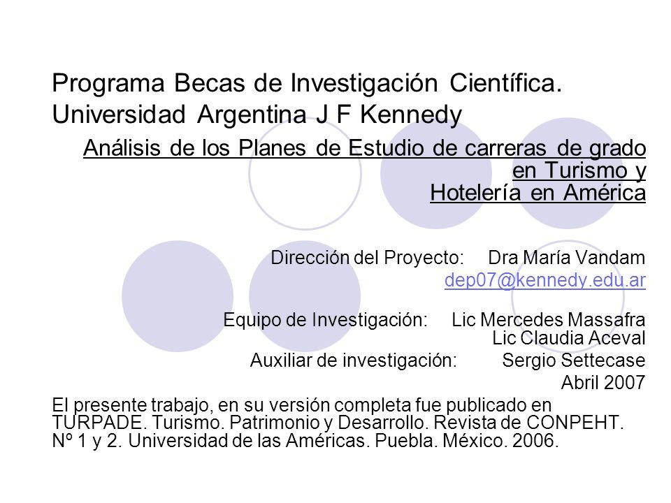 Programa Becas de Investigación Científica