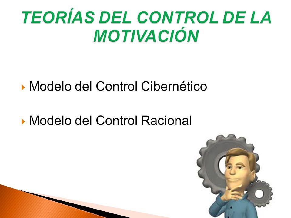 TEORÍAS DEL CONTROL DE LA MOTIVACIÓN
