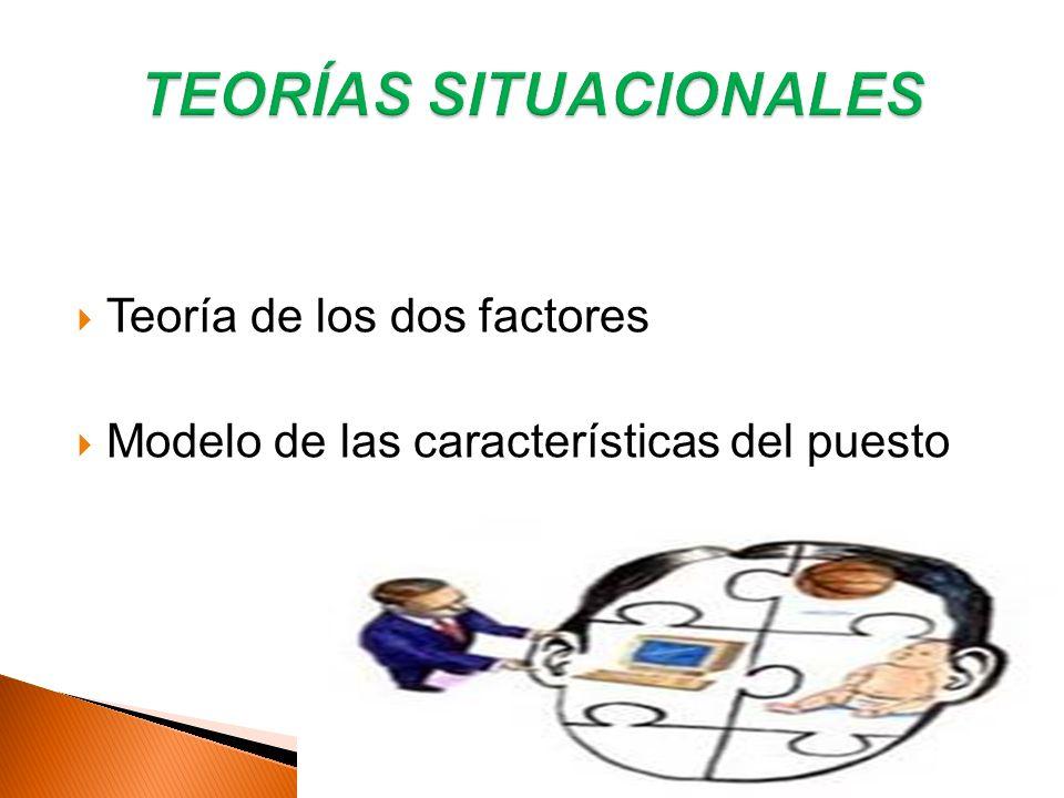 TEORÍAS SITUACIONALES