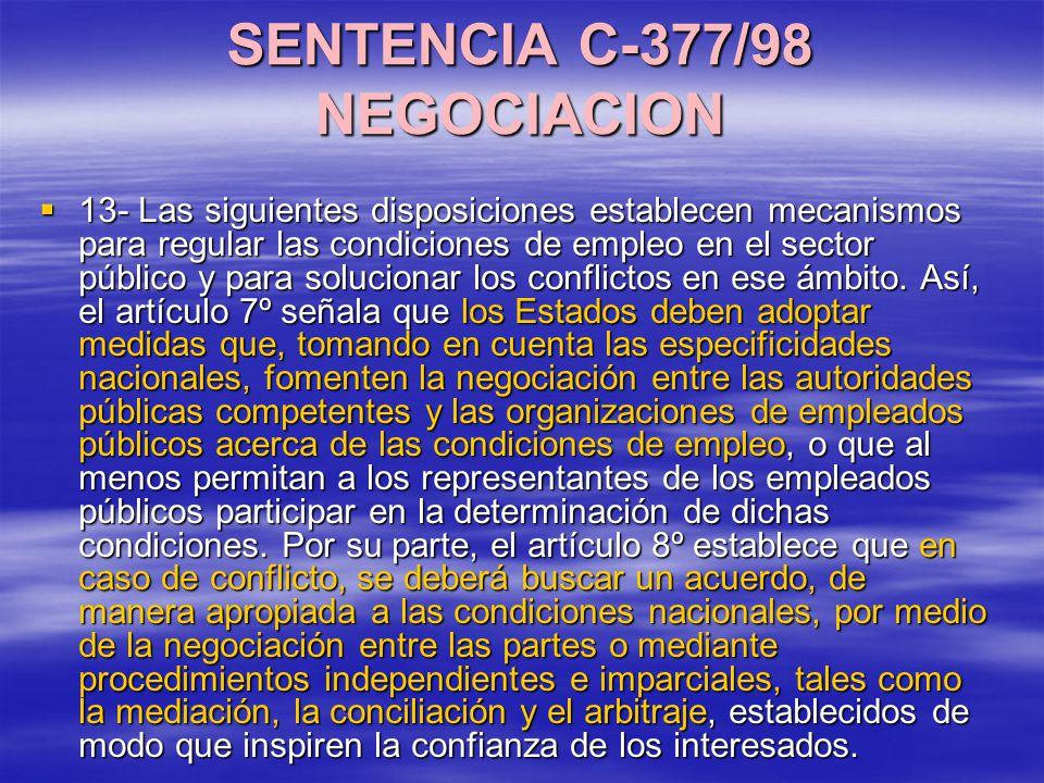 SENTENCIA C-377/98 NEGOCIACION