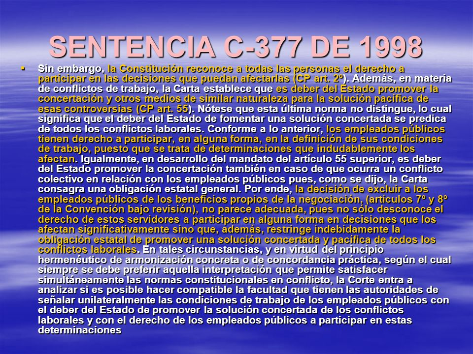 SENTENCIA C-377 DE 1998