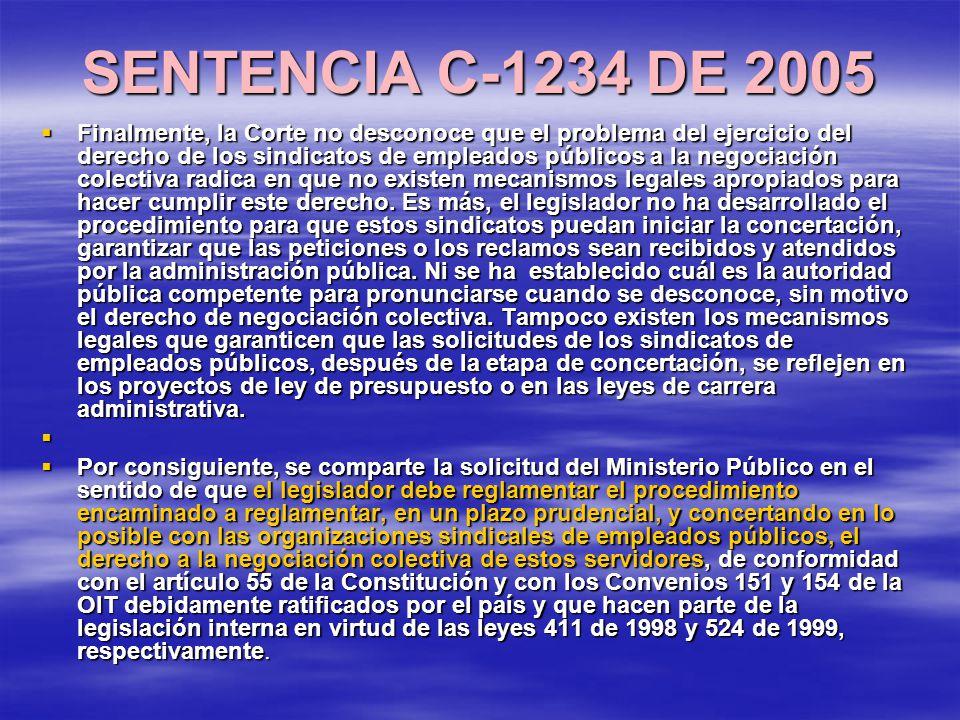 SENTENCIA C-1234 DE 2005