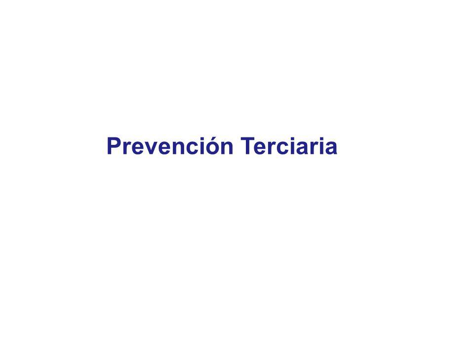 Prevención Terciaria