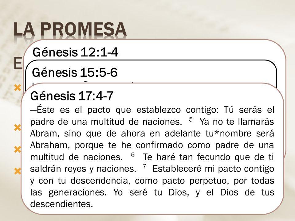 La promesa El llamado de Abraham