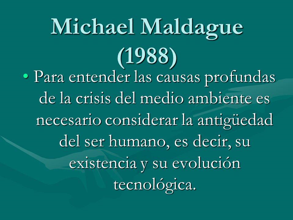 Michael Maldague (1988)