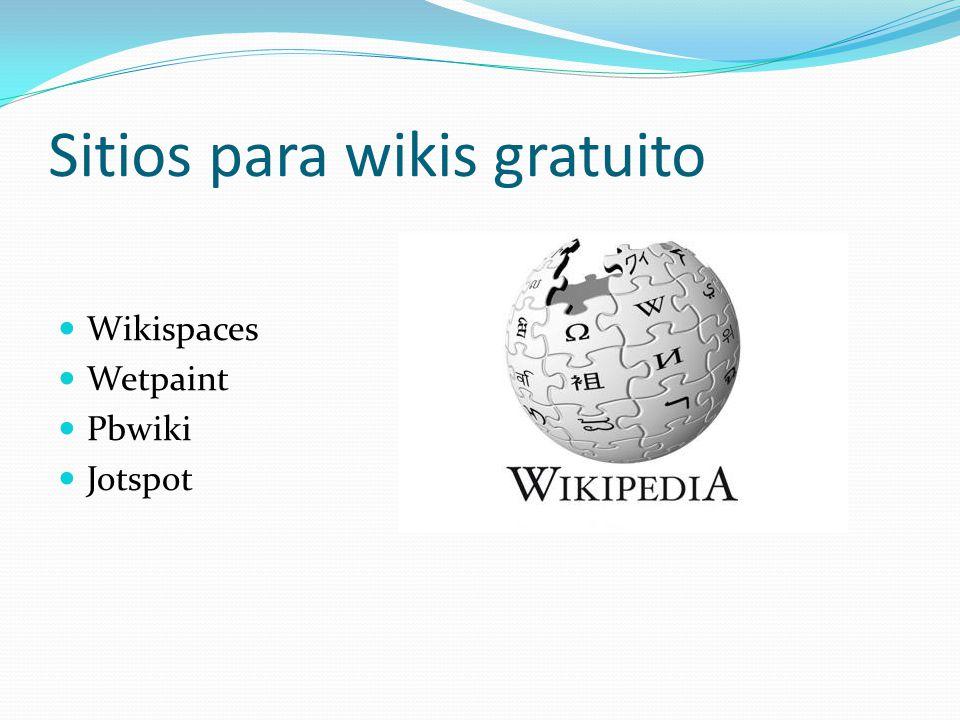 Sitios para wikis gratuito