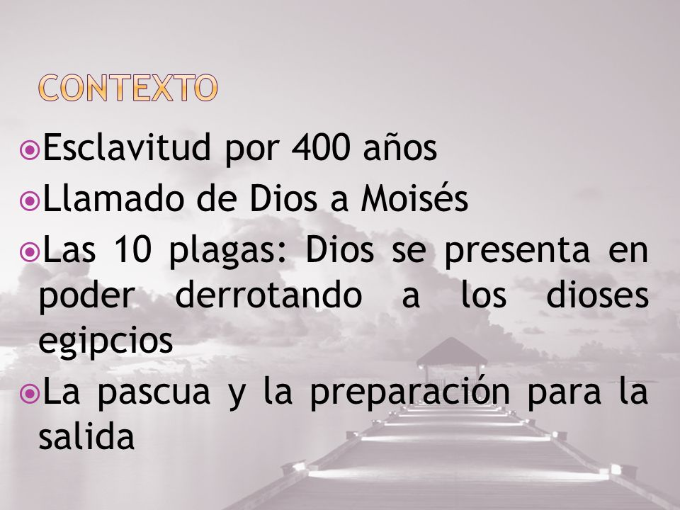 Llamado de Dios a Moisés