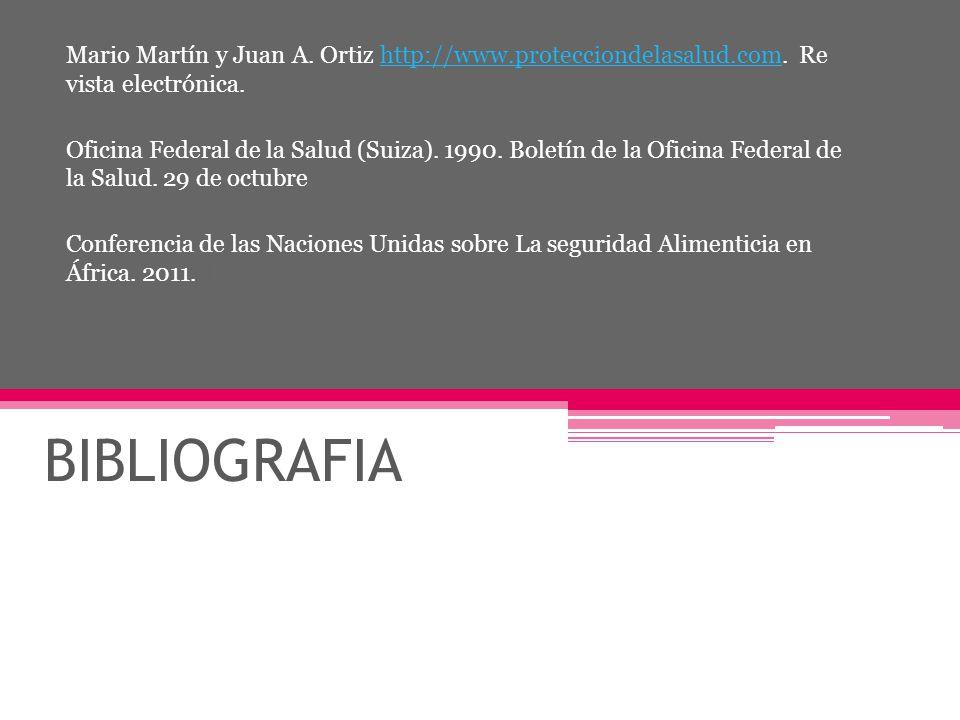 Mario Martín y Juan A. Ortiz http://www. protecciondelasalud. com