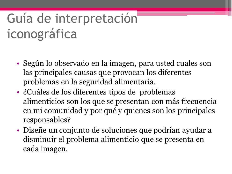 Guía de interpretación iconográfica
