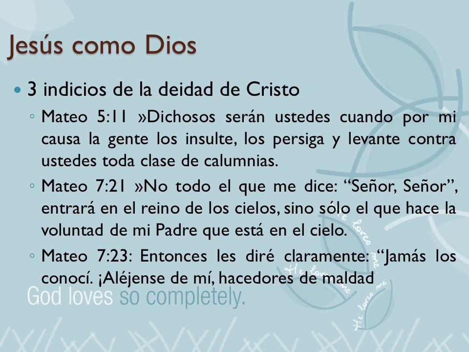 Jesús como Dios 3 indicios de la deidad de Cristo