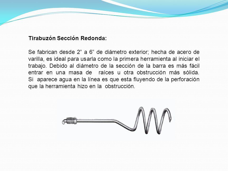 Tirabuzón Sección Redonda: