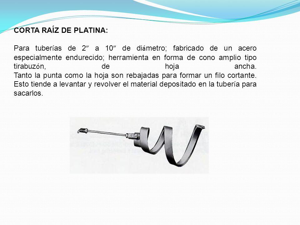 CORTA RAÍZ DE PLATINA: