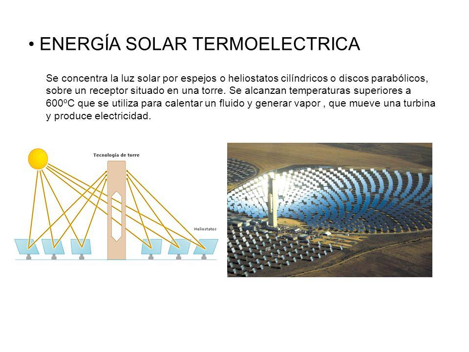 ENERGÍA SOLAR TERMOELECTRICA