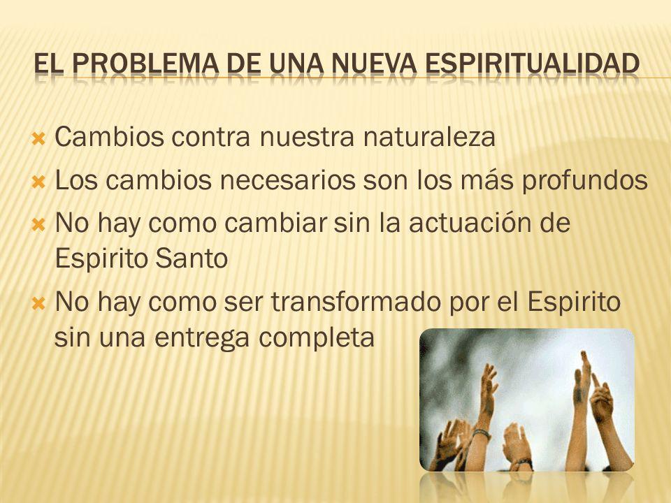 El problema de una Nueva Espiritualidad