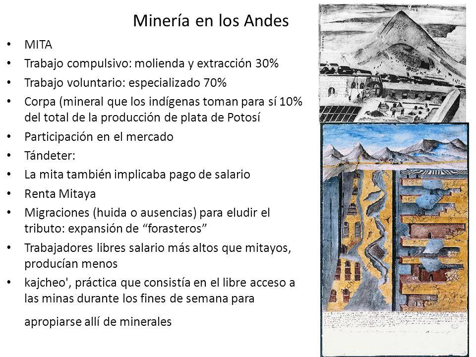 Minería en los Andes MITA