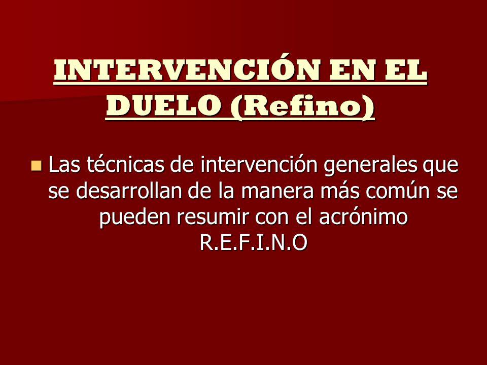 INTERVENCIÓN EN EL DUELO (Refino)