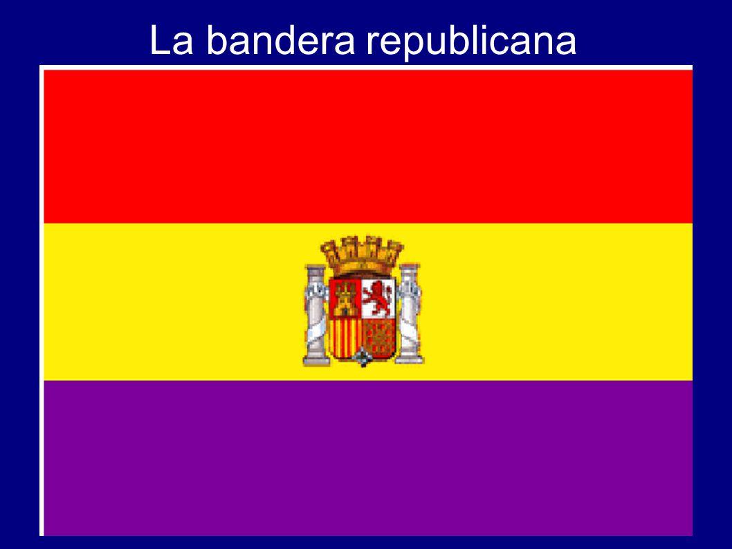 La bandera republicana
