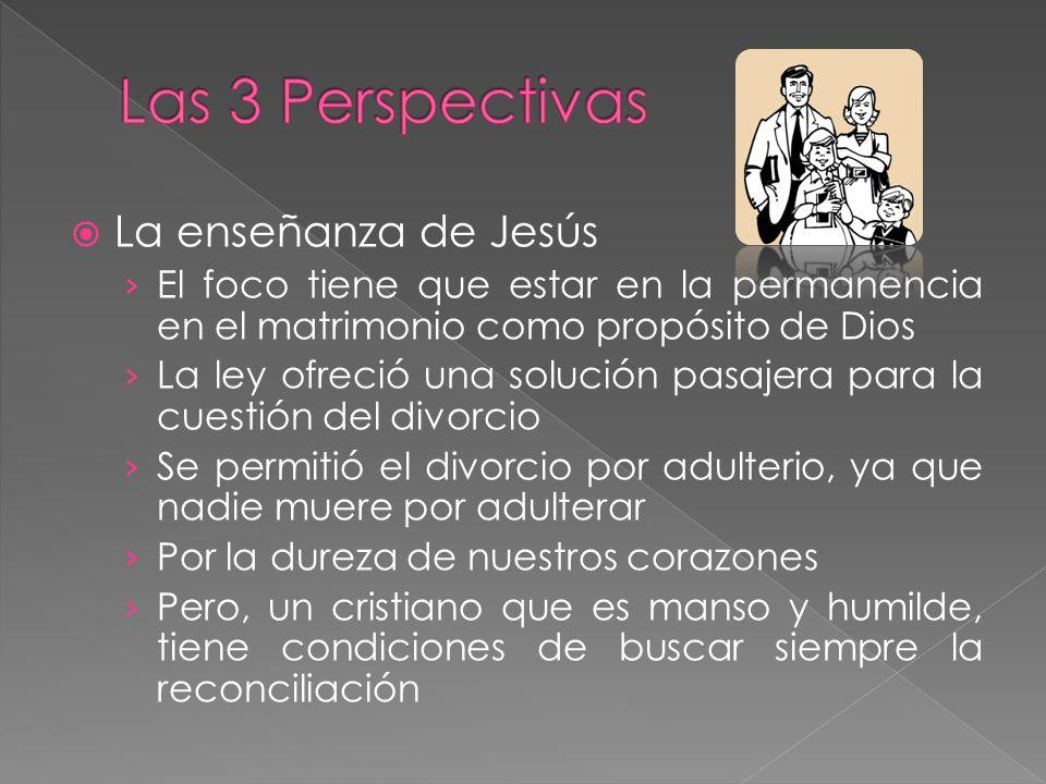 Las 3 Perspectivas La enseñanza de Jesús