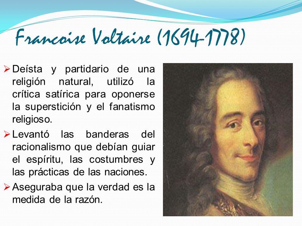 Francoise Voltaire (1694-1778)