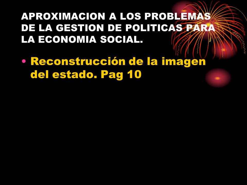Reconstrucción de la imagen del estado. Pag 10