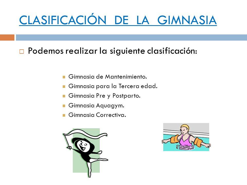 Actividad f sica ejercicio f sico y sedentarismo ppt for Definicion de gimnasia