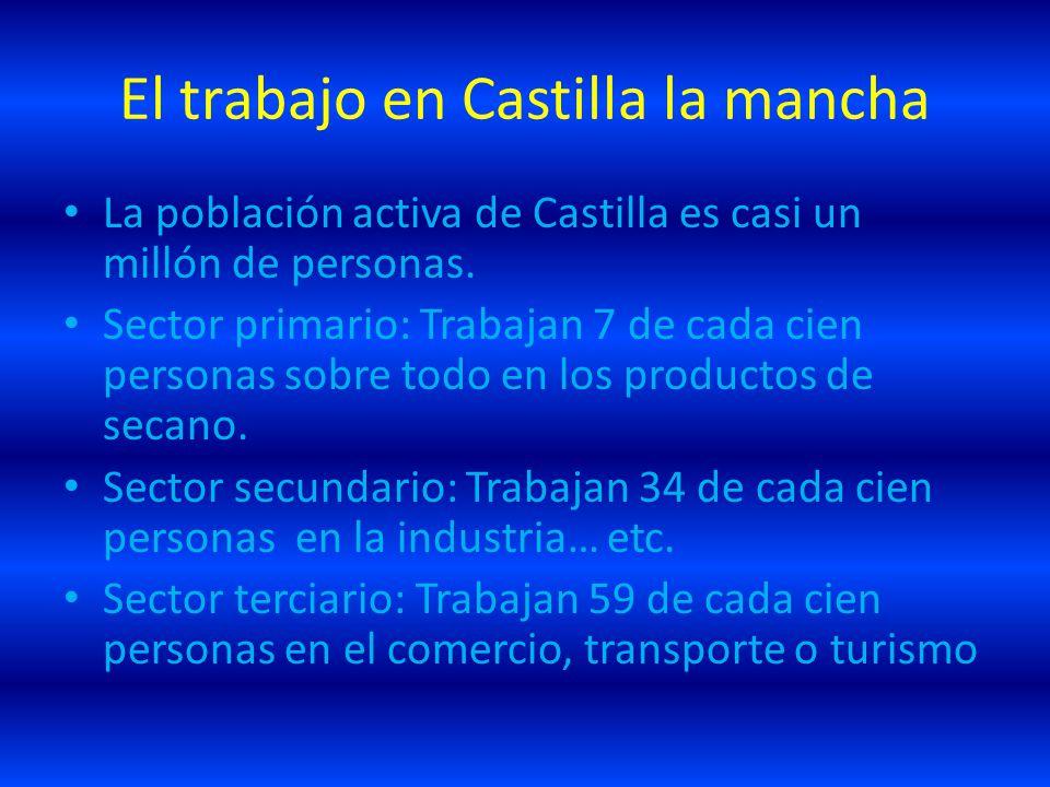 El trabajo en Castilla la mancha