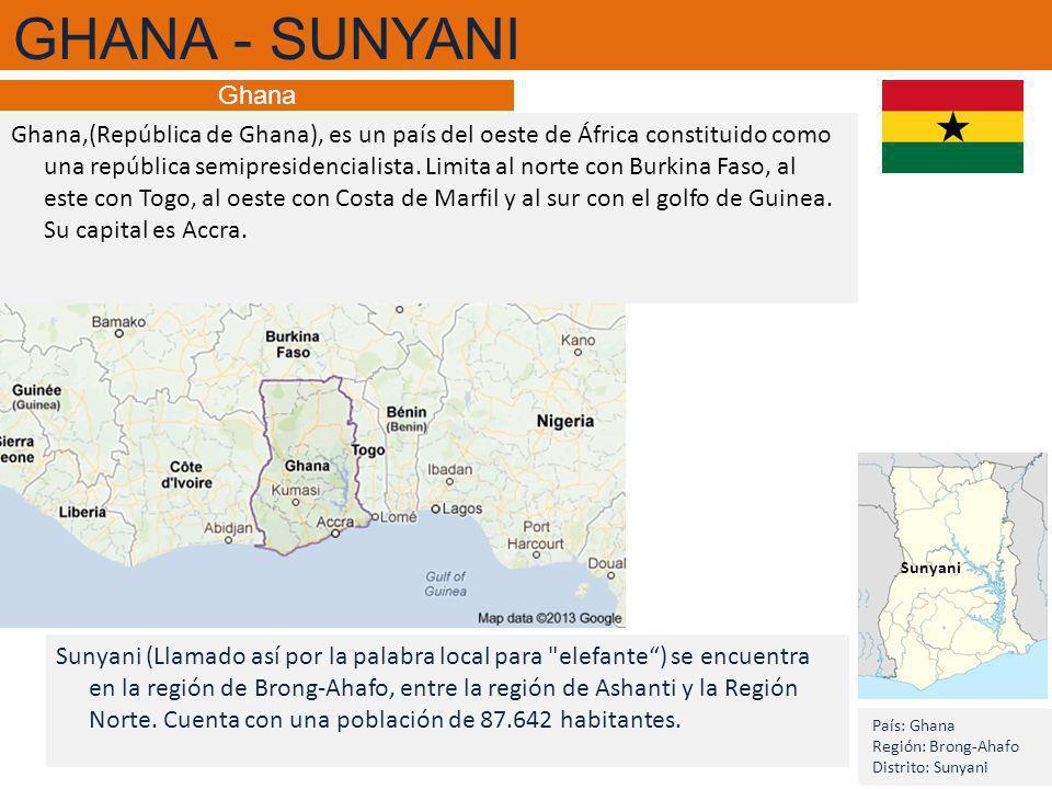 GHANA - SUNYANI Ghana.