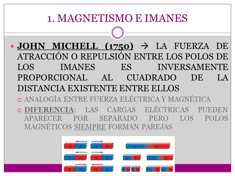 1. MAGNETISMO E IMANES