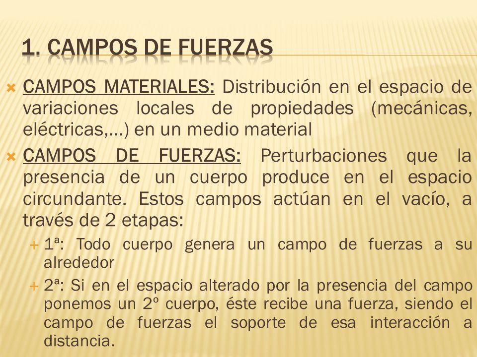 1. CAMPOS DE FUERZAS