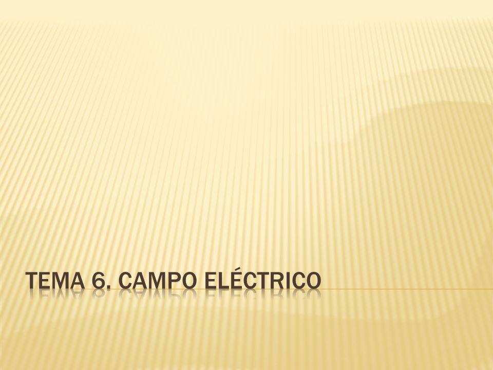 Tema 6. campo eléctrico