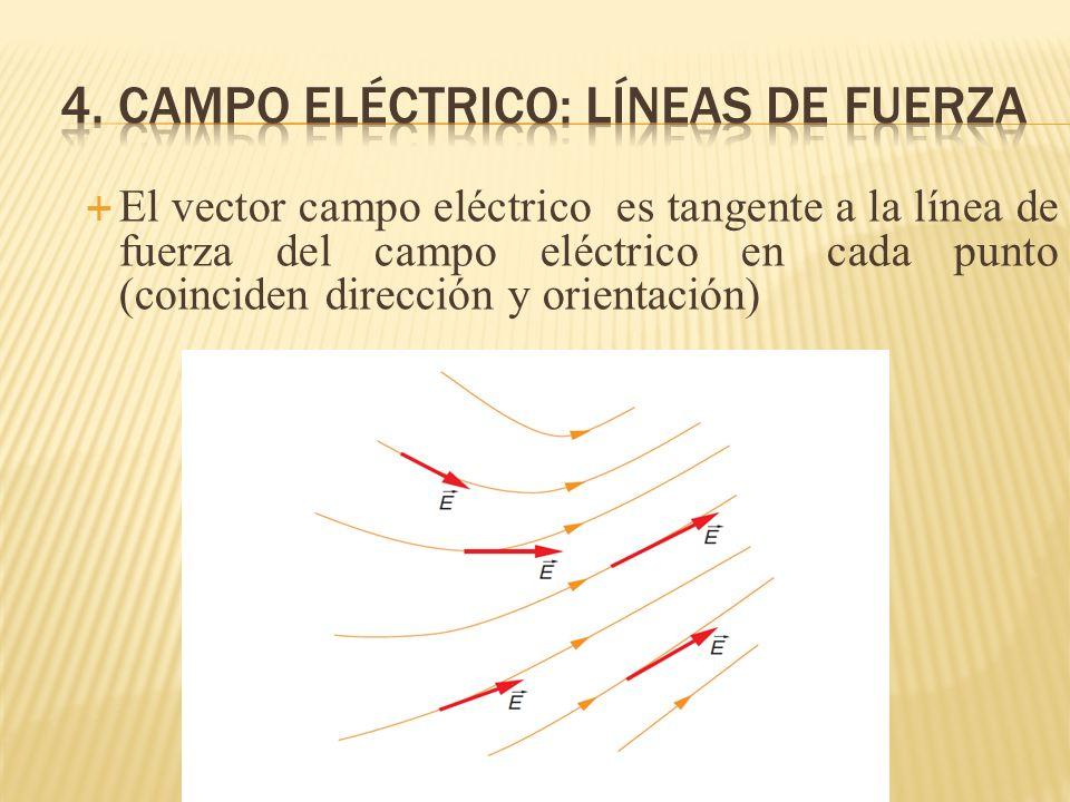4. campo eléctrico: líneas de fuerza