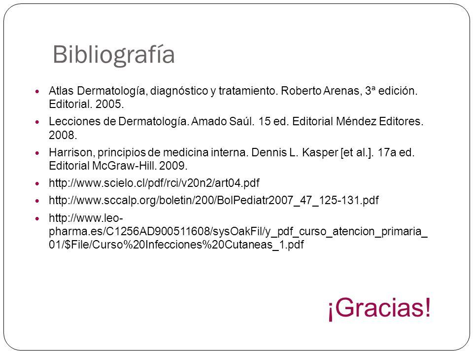 Bibliografía ¡Gracias!