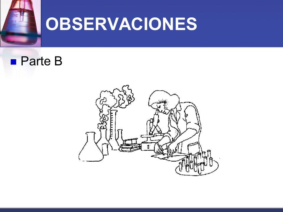 OBSERVACIONES Parte B