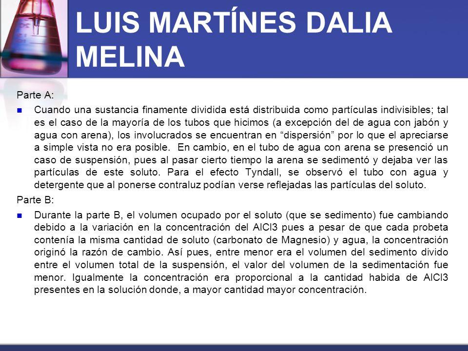 LUIS MARTÍNES DALIA MELINA