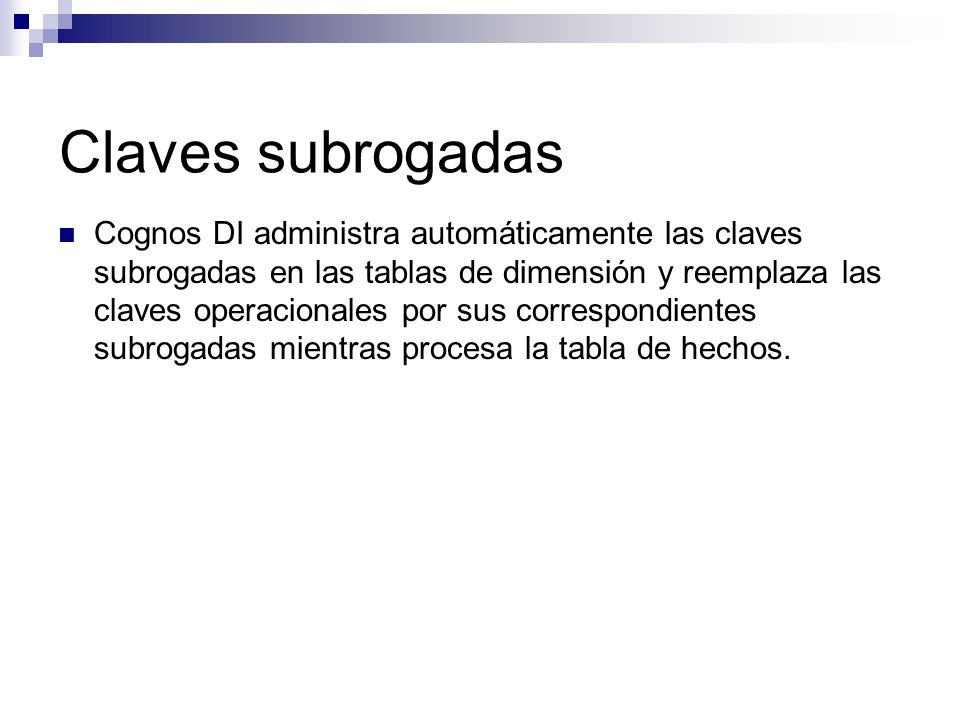 Claves subrogadas