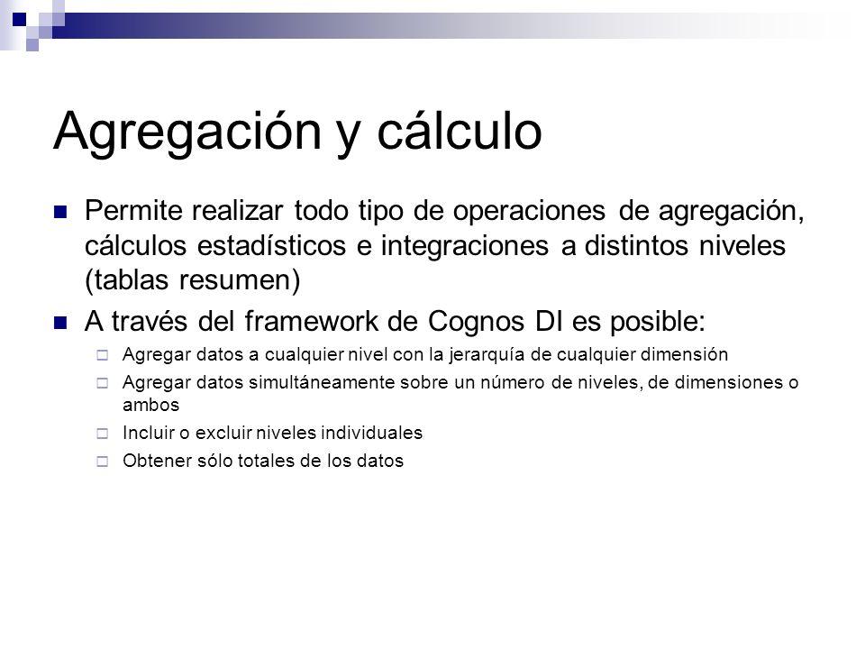 Agregación y cálculo