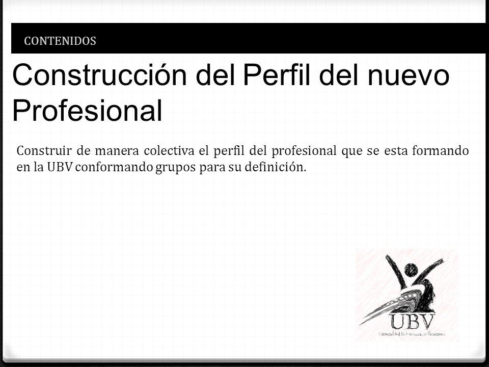 Construcción del Perfil del nuevo Profesional