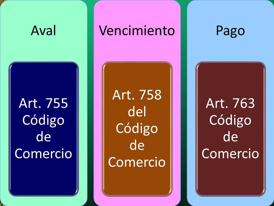 Art. 758 del Código de Comercio