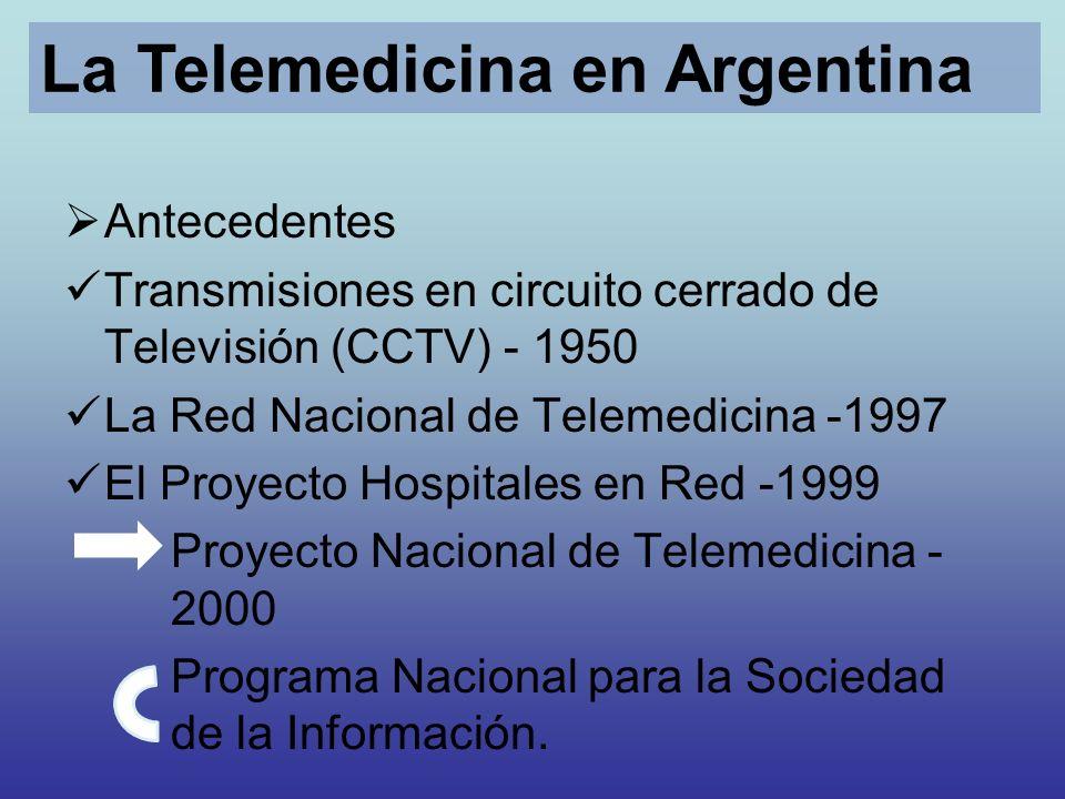 La Telemedicina en Argentina