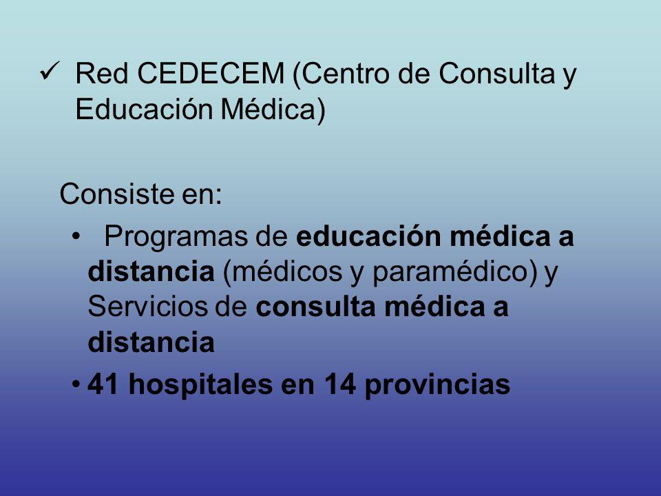 Red CEDECEM (Centro de Consulta y Educación Médica)