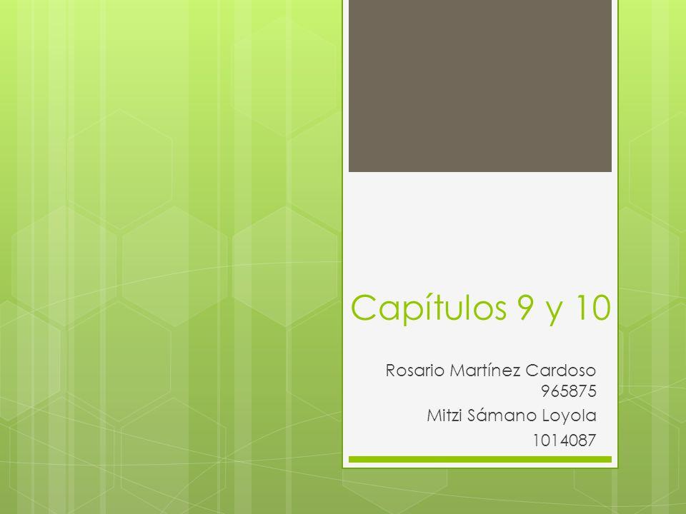 Rosario Martínez Cardoso 965875 Mitzi Sámano Loyola 1014087
