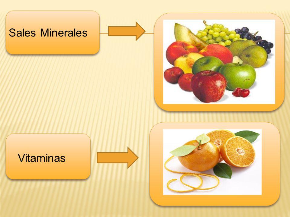 Sales Minerales Vitaminas