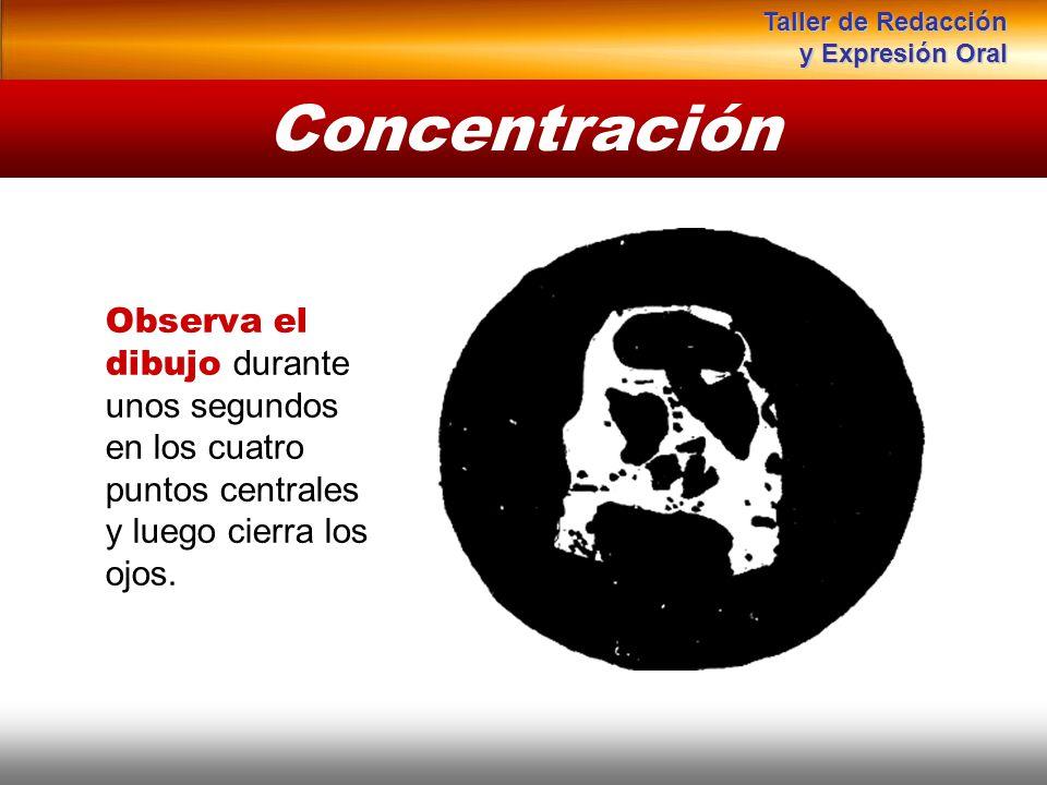 Taller de Redacción y Expresión Oral. Concentración.