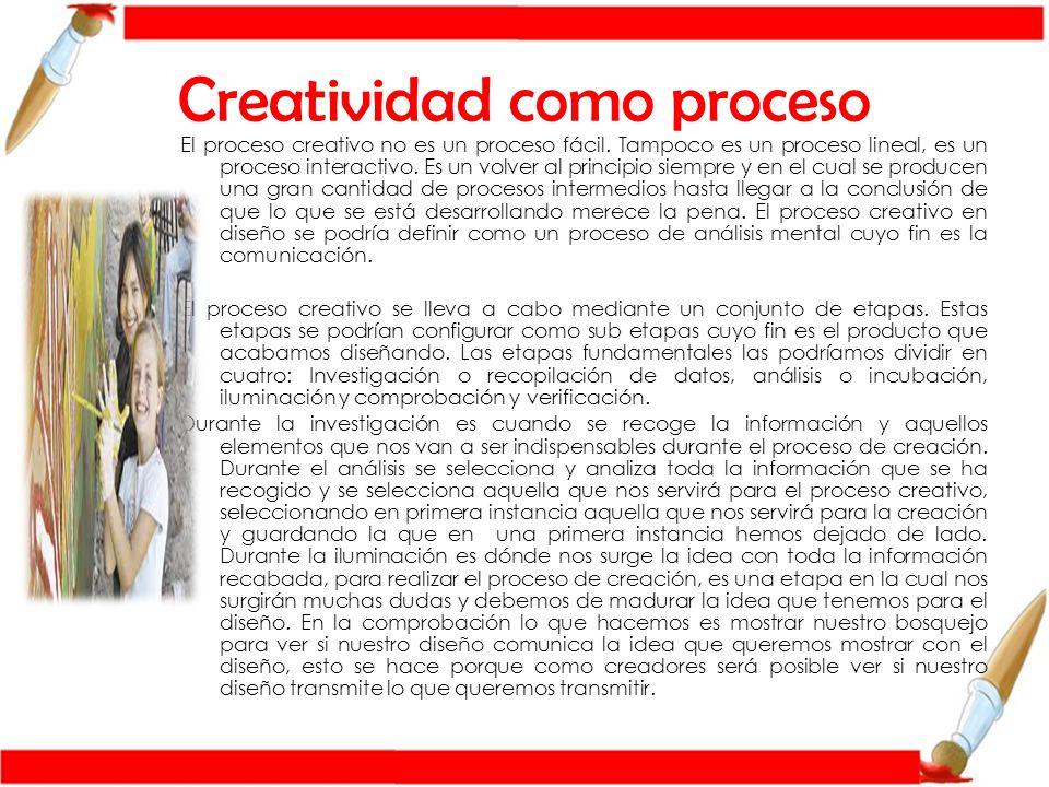 Creatividad como proceso