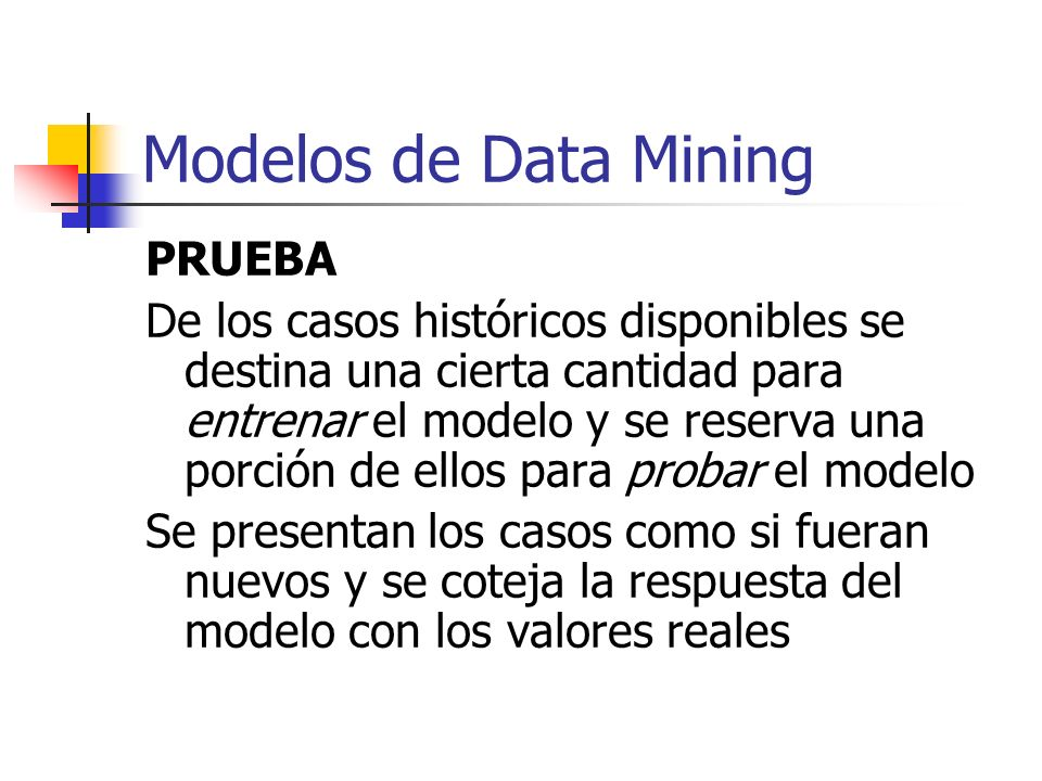 Modelos de Data Mining PRUEBA
