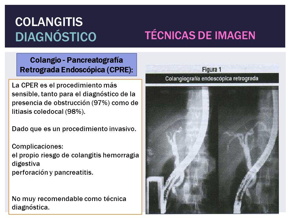 Colangio - Pancreatografía Retrograda Endoscópica (CPRE):