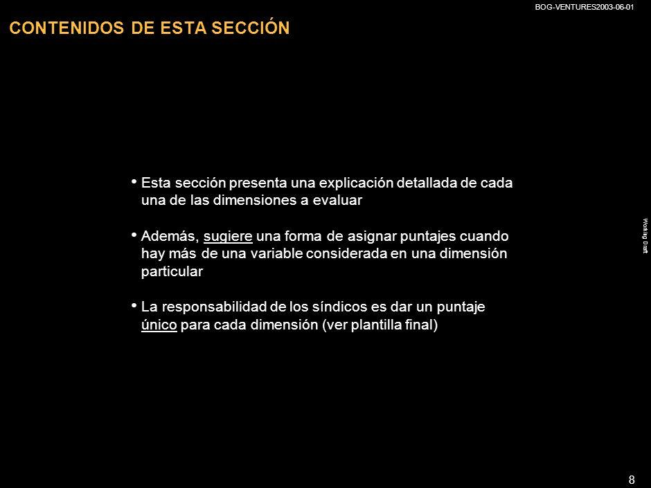 CONTENIDOS DE ESTA SECCIÓN