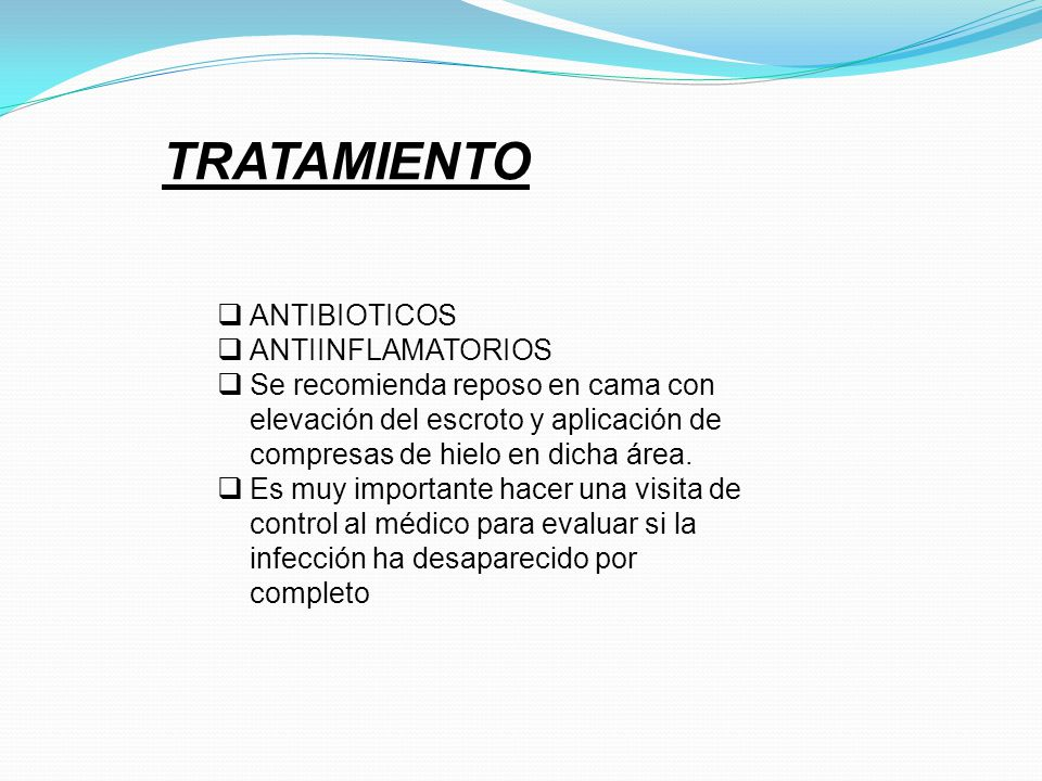 TRATAMIENTO ANTIBIOTICOS ANTIINFLAMATORIOS