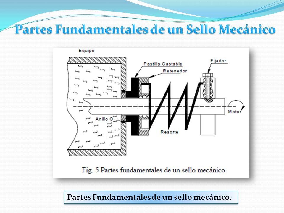 Partes Fundamentales de un Sello Mecánico
